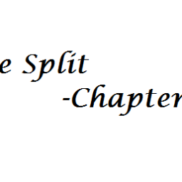 Intro to Chapter V